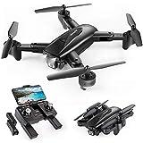 SNAPTAIN SP500 Faltbare GPS FPV Drohne mit 2K Full HD Kamera-Live-Video, GPS Drohne mit GPS-Heimkehr und Gestensteuerung, Kreis fliegen, Follow-Me-Modus und 5G WiFi Übertragung