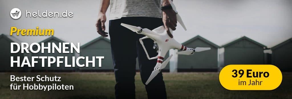 Helden Drohnenversicherung